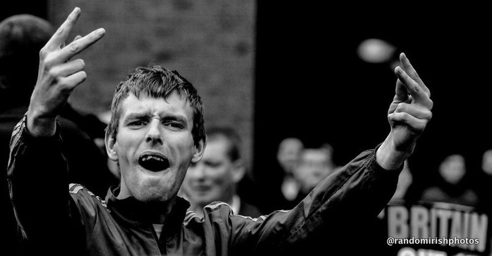 The Moment - 2014 EyeEm Awards this was the moment a protester against the Queen of England's visit to Ireland let rip with his feelings. Ireland The Street Photographer - 2014 EyeEm Awards Eye4photography