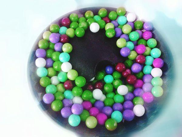 Weird Colors for Bubble Gum Balls