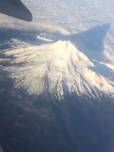 So High Airplane Window View Mountain Safe Travels! Love ♥ Mountain Peak Cloud