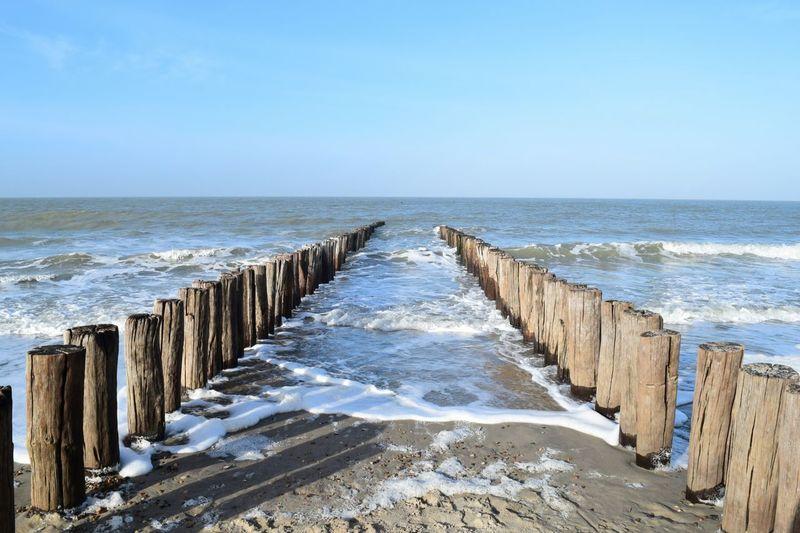 Beach Walk Domburg  Zeeland❤️ Beach Photography Sea And Sky Seashore Seascape Sea Sea View Waves