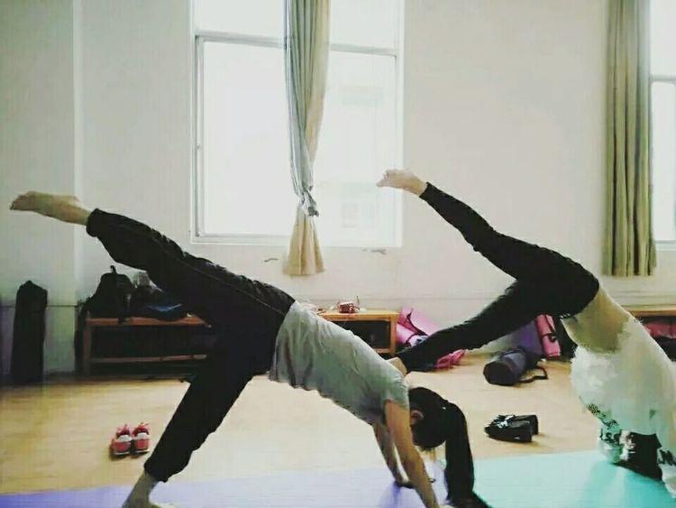 Yoga ॐ Yogagirl Me And My Friend 🙆💁
