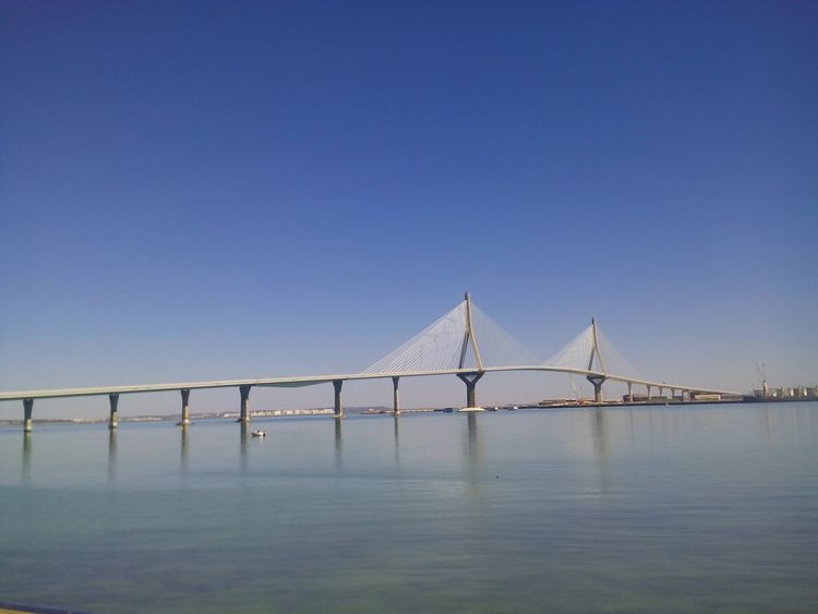 Bridge Sea SPAIN Cadiz Andalucía Cadizfornia Cadizturismo Today ☺ Sunny Day Puente Día Soleado Sea And Sky Seaside Sea View