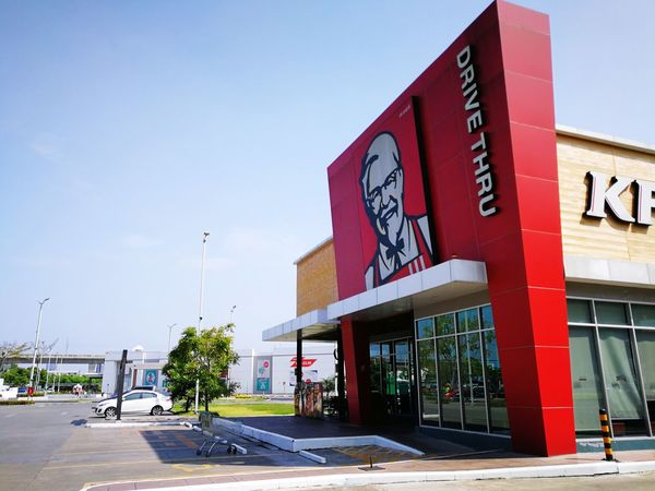 Kfc Restaurant Store Business Finance And Industry Outdoors Building Exterior Cafe Architecture Day Built Structure No People