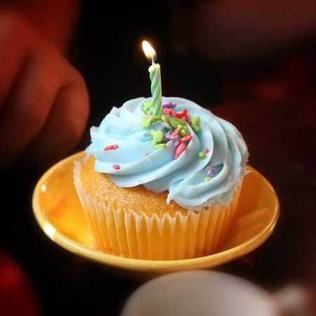 Happy Birthday! Cake Cupcake Candle