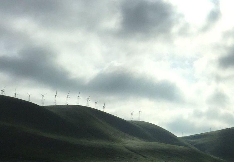 Dark Skies-Green Hills Melancholic Landscapes
