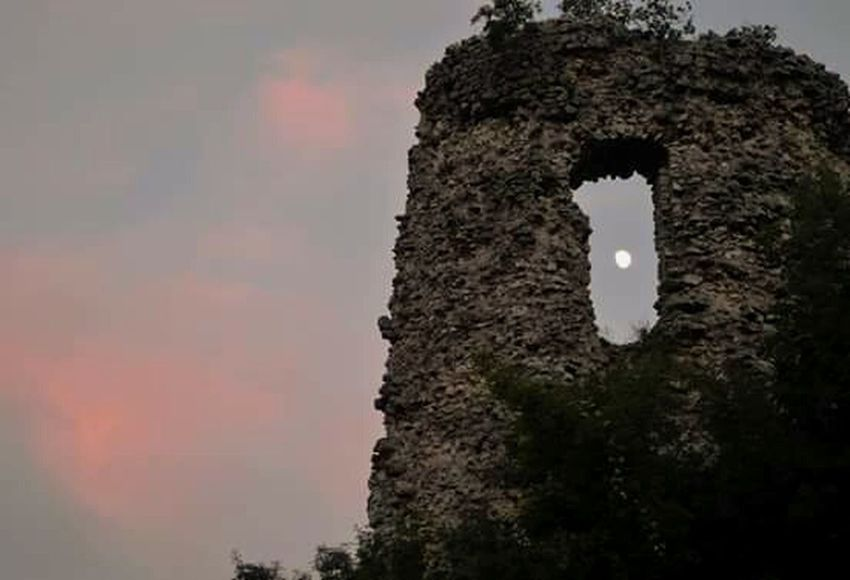 History Life Moon Clouds And Sky Pinksky Nature Traveling Italy Campania Avellino