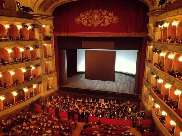 Tristan und Isolde at Opera Rome Arts Culture And Entertainment Indoors  Auditorium Architecture Rome Wagner Wagner Opera Operahouse Music Orchestra Drama Theater Theatre No People Operatheatre ınstagram