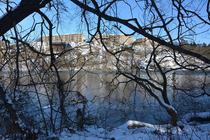 It's Cold Outside Bromma Winter Buildings Cold Winter ❄⛄ Sweden Sverige Cold Season White Snow Snow ❄