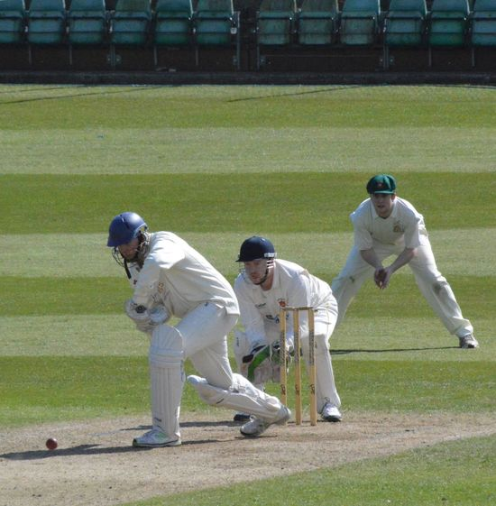 Action from NYSD ECB Premier League Cricketers