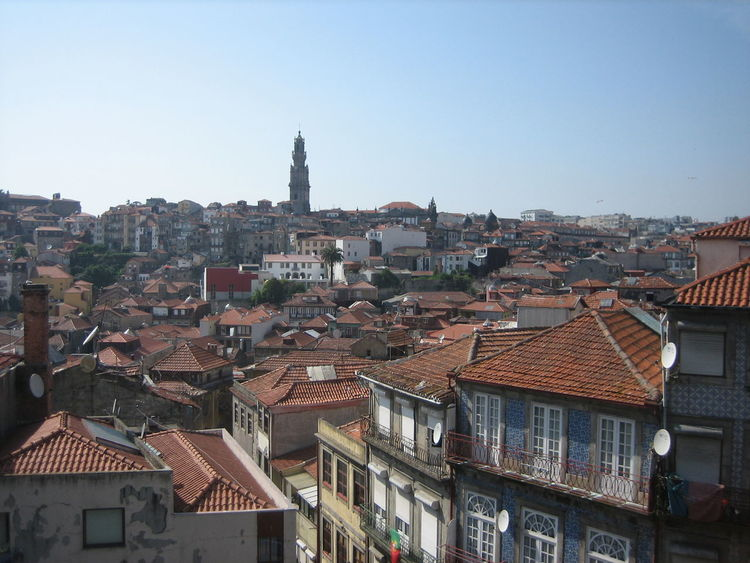 Photos of Porto, Portugal 2010 Architecture Building Exterior Built Structure City Cityscape Clear Sky Community Day House No People Outdoors Residential Building Roof Sky Town