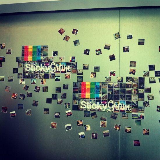 #stickygram stand at #diveuniverse Eye4photography  Diveuniverse Art