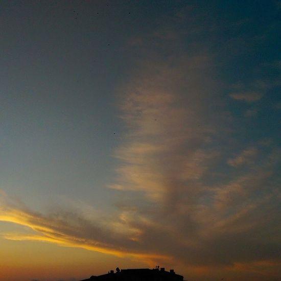Evden Gunbatimi klişesi... Sunset Istanbul Sky color hd hdr nature manzara cloud