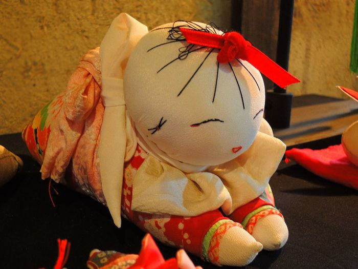 Close-up Girls Baby Handcraft Human Body Part Indoors  Japanese Seasonal Culture Jpanese Baby Doll Red Ribbon Redribbon