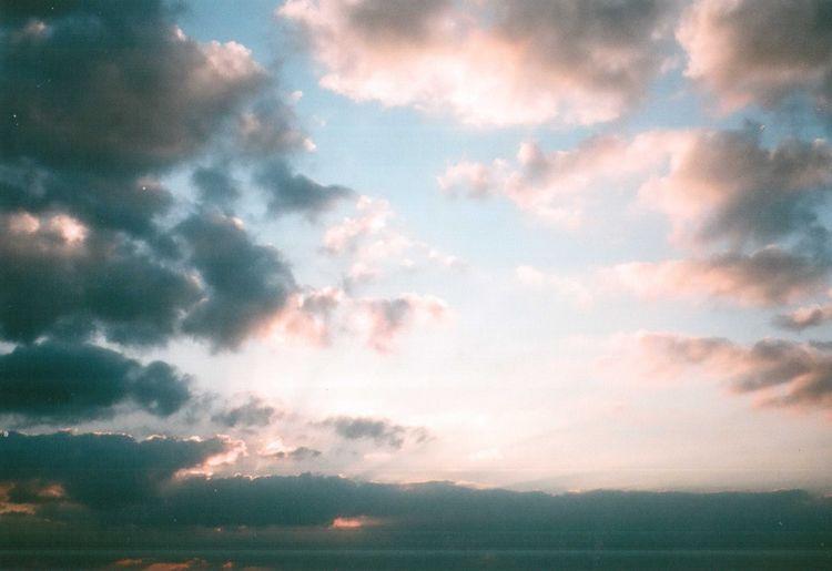 35mm 35mm Film Beauty In Nature Mju2 Mjuii Nature Olympus Outdoors Sky Soft Sunset