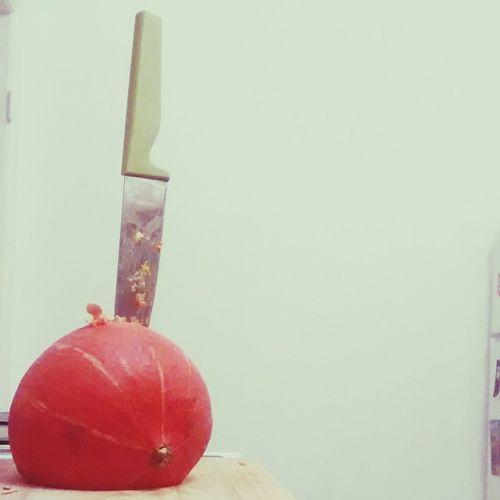 Pumpkin Stabby Sword In The Stone