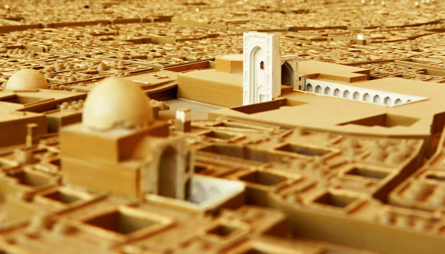 Mock-up of old Yazd city Architectural Model Architectural Model Making Architecture Architecture Mock-Ups City City Mock-Up City Planning Model Close-up Day Indoors  Iran Mock-up Mock-up Of Old Yazd City Mockup Architecture No People Religion Spirituality Yazd ماکت بافت تاریخی شهر یزد ماکت شهر یزرد