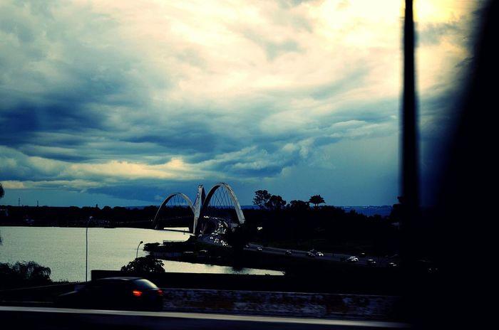Bridge Ponte Ponte Pontejk Céu Sky Nuvens Clouds Nublado Brazil