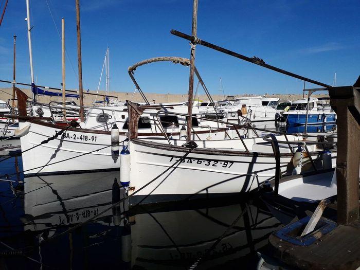 Emporda Portbou Girona Catalonia Catalunya Mar Mediterranean  Water Nautical Vessel Sea Harbor Beach Clear Sky Sky Boat Ship Sailing Port