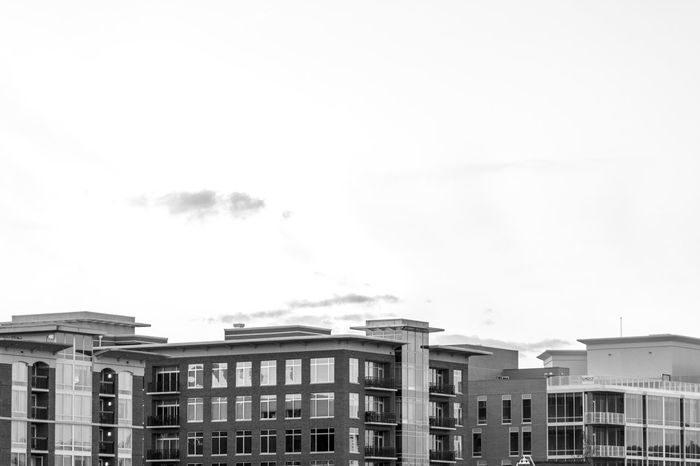 Architecture Black And White Building Exterior Buildings Built Structure City City Life Cityscape Day End Of Day Greenville Greenville, SC No People Outdoors Reflective Windows Sky South Carolina Urban Urban Skyline Welcome To Black