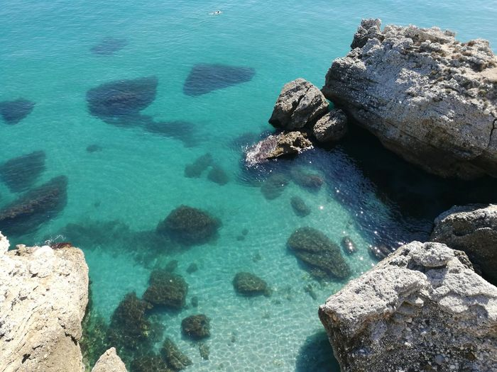 Sea Beach Water Rock - Object UnderSea Nature High Angle View Underwater Aerial View Blue No People Day Beauty In Nature Sea Life Outdoors Seascape Seaside Sea View