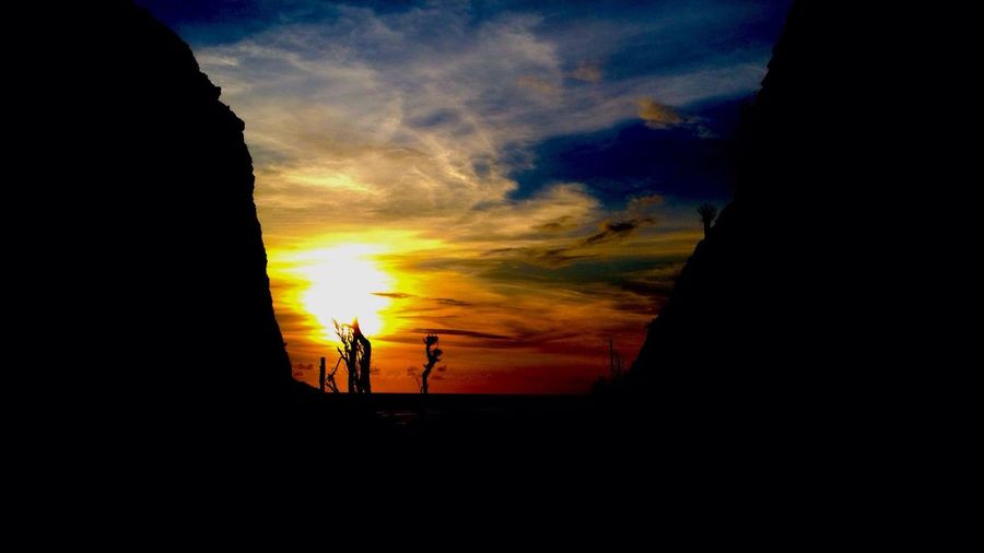 My Favorite Photo Enjoying The Sun Sunset Sillhouette Bali, Indonesia Taking Photos IPhoneography created by : Dede Haryadi