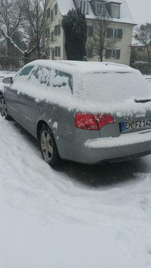 Snow ❄ Audi A4 ?