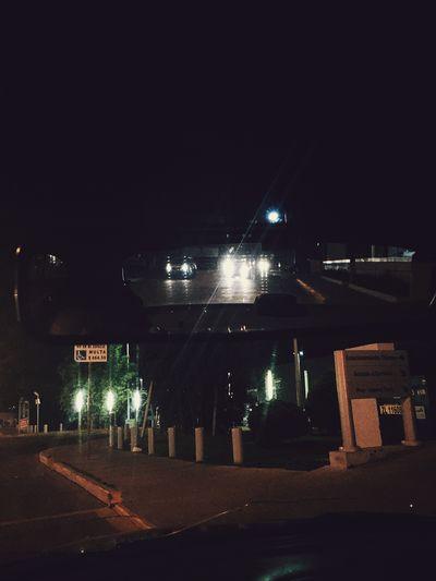 Mirror Leon Night View Street Night Lamps