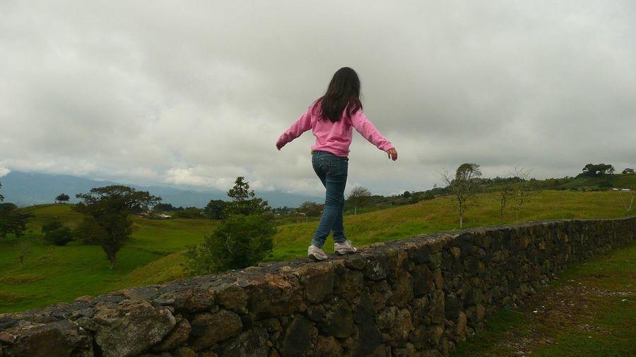 Born free (Nacida libre). Costa Rica Free Freedom Outdoors