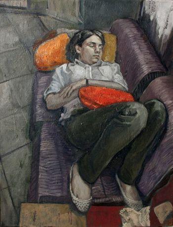 Paint Farsam Sangini Art, Drawing, Creativity Art Gallery Sleeping Art Exhibition Sleep