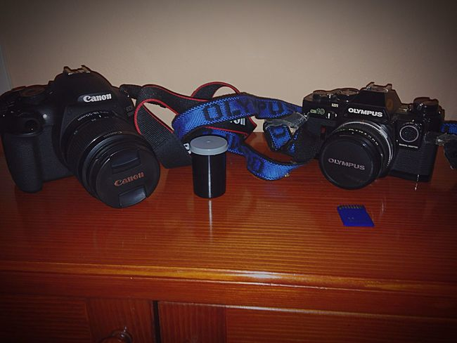 TakeoverContrast Photography Camera Old New Old But Gold Camera Roll Memory Memories Father & Son