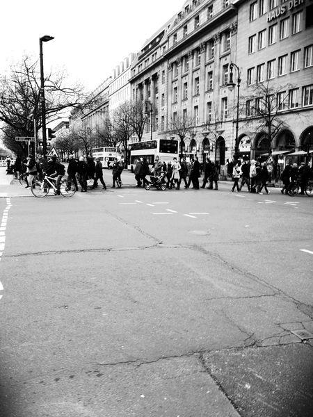 Walking around at Unter den Linden Walking Around