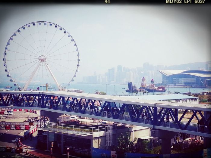 Hong Kong Home Central Observation Wheel Love To Take Photos ❤