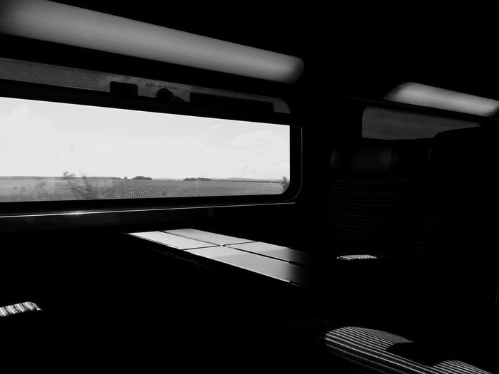 Traveling On The Road Train Morning Blackandwhite Comuting Streetphotography