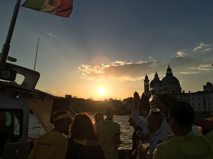 Sunset Party Moonlight Party Boat Venice Venice Lagoon Nofilter