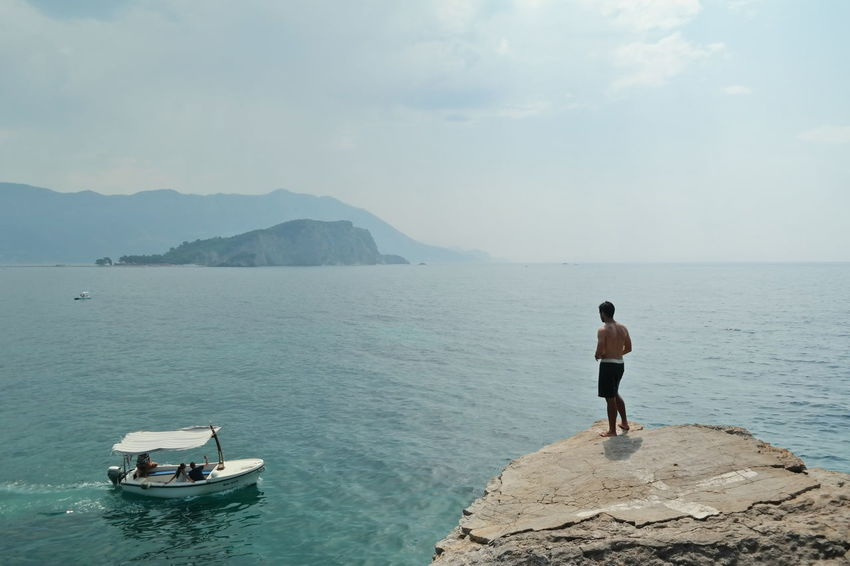 One of my favorite spots in Budva where usually the cliff divers are hanging out. Budva Budva,Montenegro Cliff Diving Elegance Everywhere Huffington Post Stories Mediterranean  Montenegro Showcase: January Travel Photography