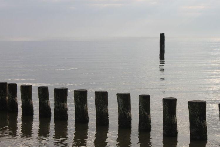 Water Sea Post