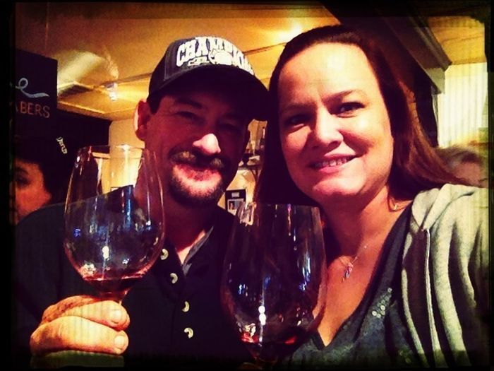Fortunately we found Lucas and Lewellen's tasting room in Solvang!!