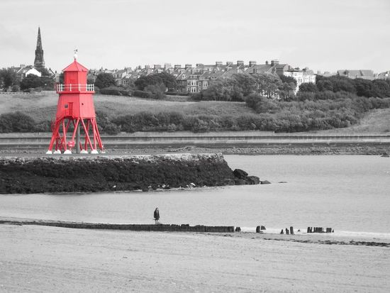 Beach Beach Photography Beachphotography Built Structure Sea SpaceShip Water Waterfront Red