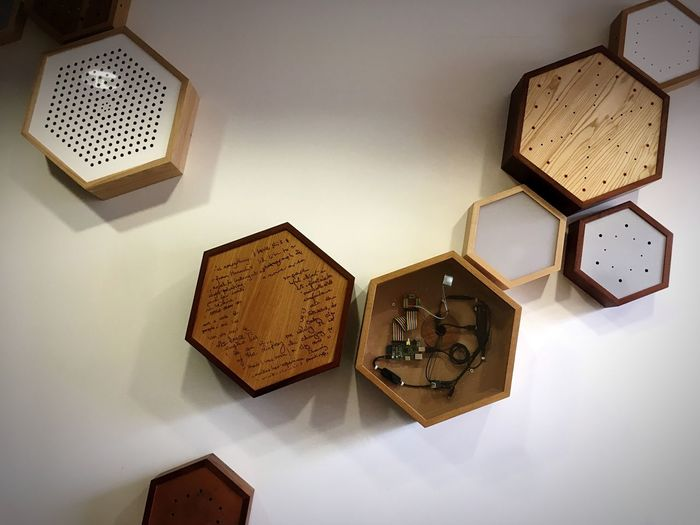 EyeEm Selects Indoors  Clock Technology No People Time Day Display Exposition Hexagon Hexagonal Wooden