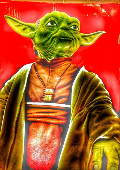 The man is back. It's all about Star Wars.!! Eye4photography  EyeEm Gallery Hdr Edit Hdr_gallery Popart Kunst Popular Photos Portrait Master Yoda Just couldn't pass this by.