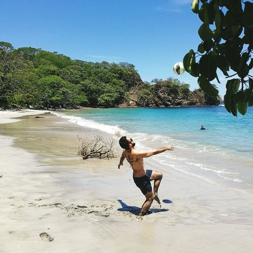 Costa Rica Lovely Weather Chilena Vacations Clear Sky Beach Lifestyles Sunny Sea Nature