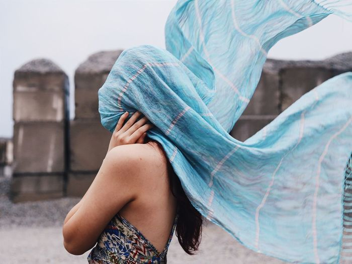 """i don't want to know"" Portrait Photography Portrait Of A Woman Portrait Girl Woman Women Of EyeEm Women Who Inspire You Eye4photography  EyeEm Best Shots EyeEm Best Edits Singapore Mood Solitude Ignorance Wind Women Art Veiled Blue Wave My Favorite Photo"