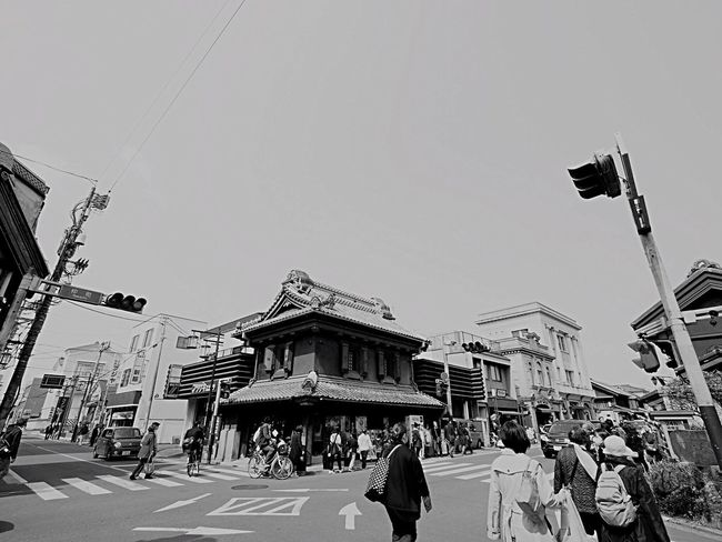 Short trip to Kawagoe. Real People Street Architecture Crowd Crowd People KAWAGOE 川越 Japanese Landscape Japan Photography Koedo 小江戸 Short Trip 小旅行 Olympus Om-d E-m10 Monochrome 白黒 Monochrome Photography