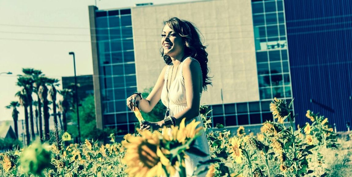 Model KOPhotography Valley Of The Sun Flowers