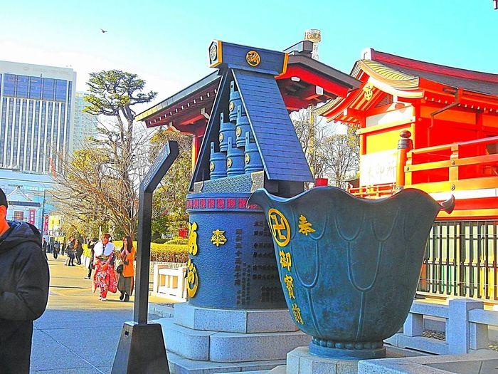 Asakusa Temple.