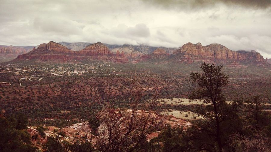 Cloud - Sky Landscape Nature Outdoors Sky Dramatic Sky Beauty In Nature Storm Cloud Beauty In Nature Sedona Arizona View From The Top Cathedral Rock Beautiful Perspectives On Nature