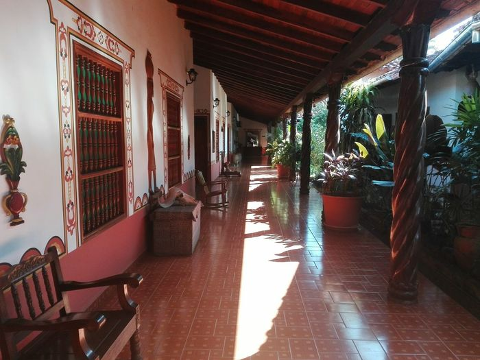 Colonial Hotel This is Latin America Architectural Column Architecture Built Structure Corridor The Traveler - 2018 EyeEm Awards