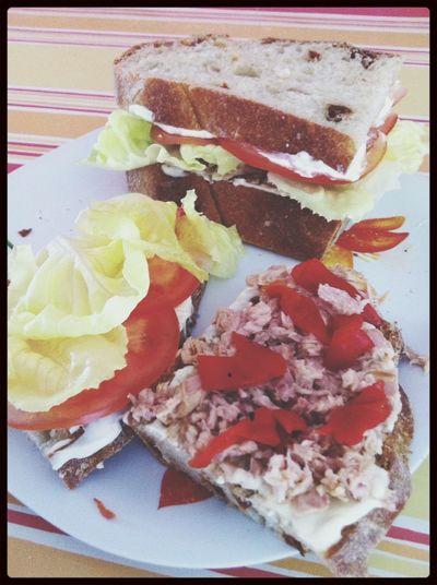 Sandwich de PANAZO :D