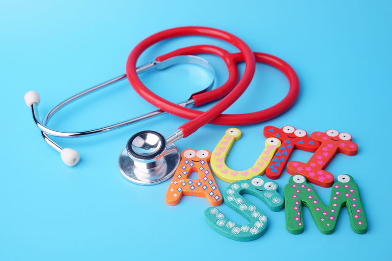 Stethoscope with autism word on blue background. Conceptual Wooden Healthy Health Care New Autism Awareness Autism Loves Background EyeEm Selects Healthcare And Medicine Studio Shot Colored Background Stethoscope  Blue High Angle View Variation Blue Background Close-up Logo Medical Equipment Medical Procedure Medical Building Emergency Room Medical Supplies Examination Table Medical Instrument Surgical Equipment Medium Group Of Objects Tool