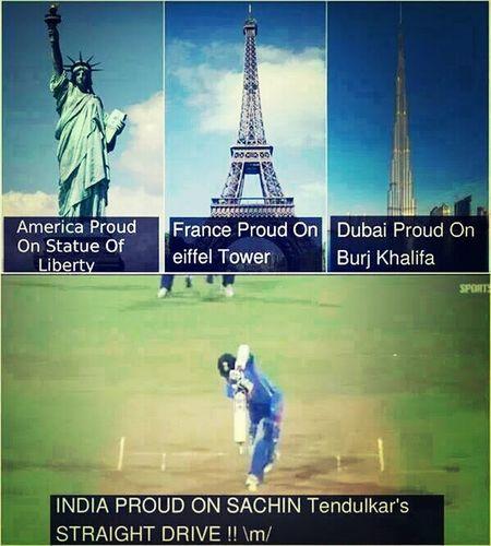 Proud Indian Sachine Tendulkar  Legend Cricketgod